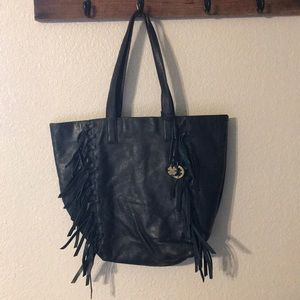 Lucky Brand women's leather tote